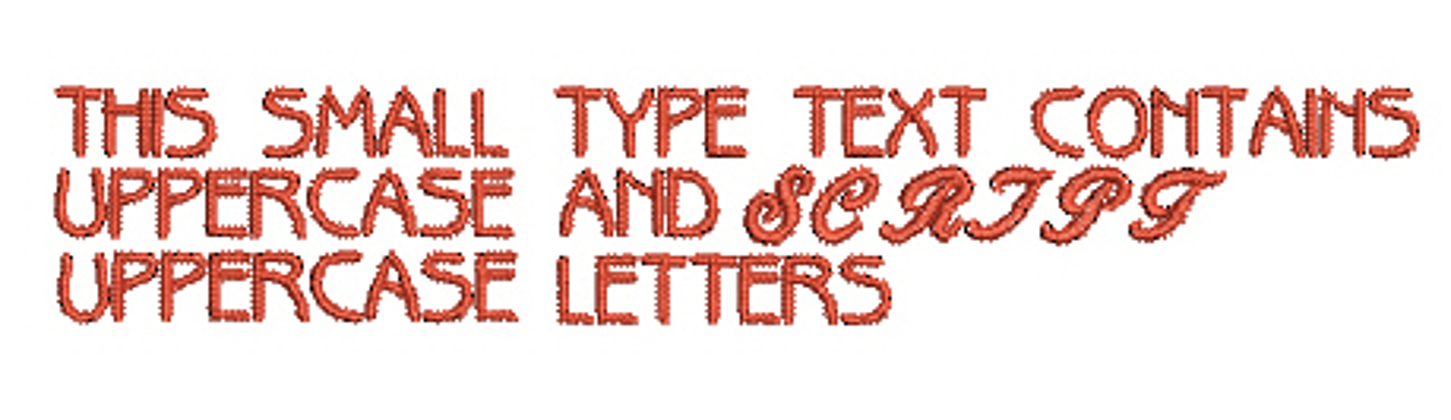 Tiny Alphabet