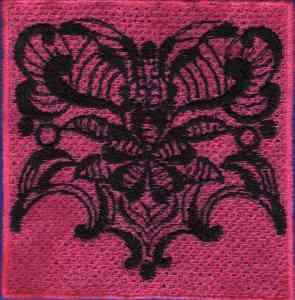 Fantasy FSL Block Embroidery Design
