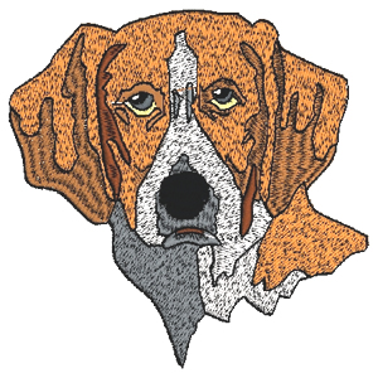 Gun Dog Embroidery Design