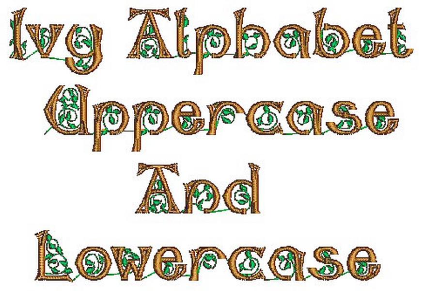 Ivy Alphabet