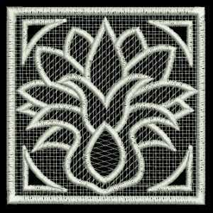 Lace Cutwork Embroidery Design
