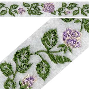 Rose Endless Embroidery Design