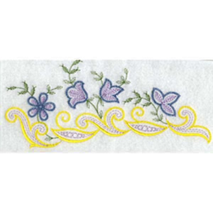 Endless Linen Border Embroidery Design