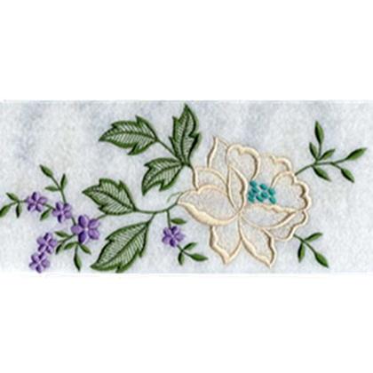 Endless Rose Border Embroidery Design