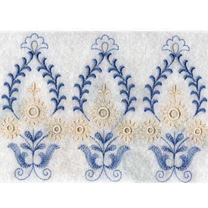 Endless Linen Embroidery Design