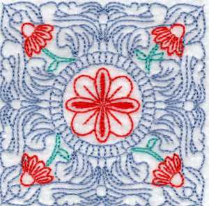 Old Style Quilting Embroidery Design