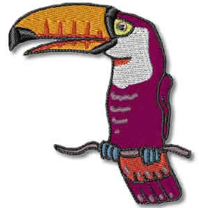 Toucan Embroidery Design
