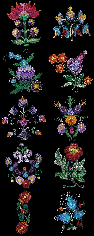 Дизайны вышивок формат jef