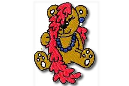 Fancy Bear Embroidery Design
