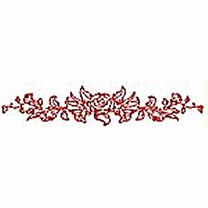 Borders and Corners Roses 5 Embroidery Design