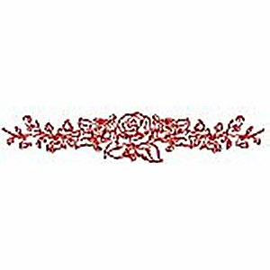 Borders and Corners Roses 9 Embroidery Design