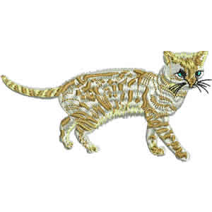 Tabby Embroidery Design
