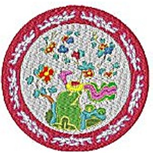 Chinese Plates Chinese Dragon Embroidery Design