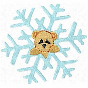 8 Set Animal Snowflakes Embroidery Design
