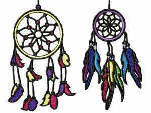 10 set Dream Catcher Embroidery Design