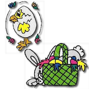 Easter Collection Set Embroidery Design