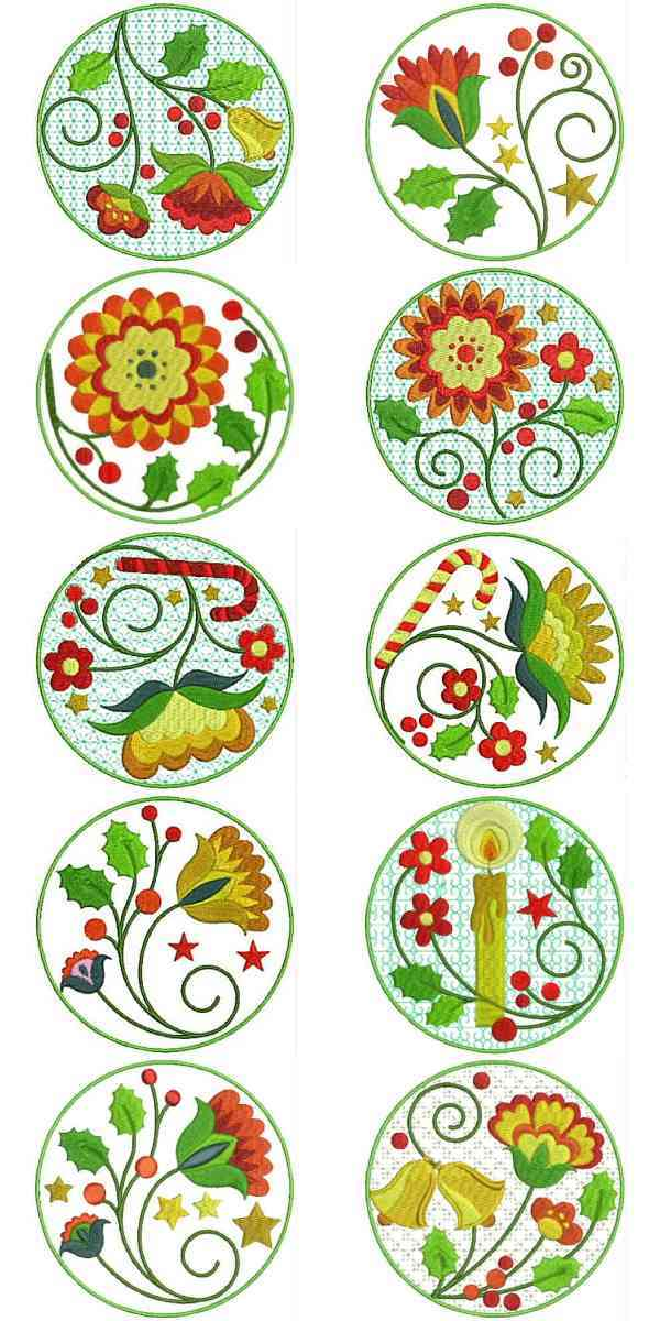 JACOBEAN MACHINE EMBROIDERY DESIGNS  EMBROIDERY DESIGNS