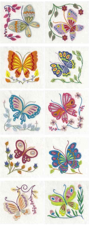 10 set Lovely Butterflies