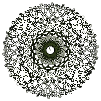 Circle of Lace Embroidery Design