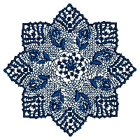 Star Shape Lace Design Embroidery Design