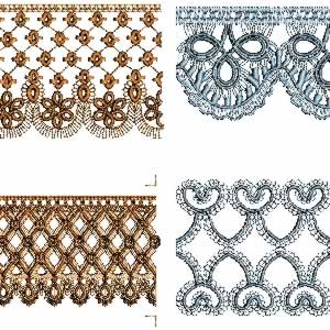 Embroidery.com: Tatting / Lace / Crochet - Embroidery Designs