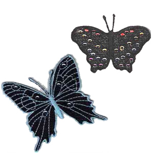 10 Set FSL Lace Butterfly Embroidery Design