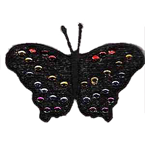 Free Standing Lace Butterfly Embroidery Design
