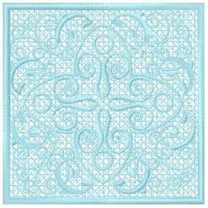 Complex Lace Embroidery Design