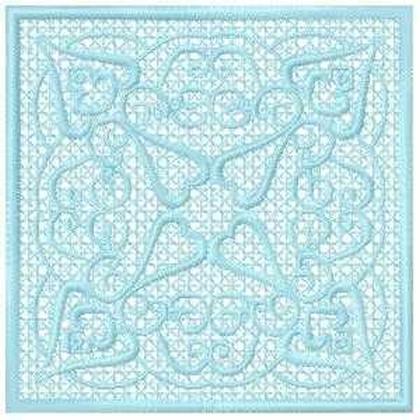FSL Block Embroidery Design