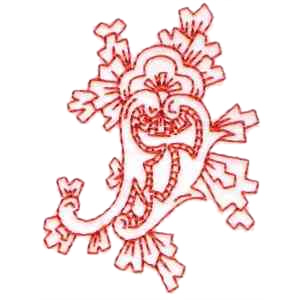 Fiesta Paisley Embroidery Design