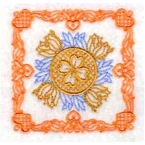 Victorial Quilting Embroidery Design