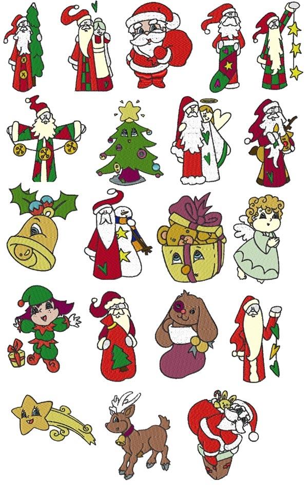 20 set Christmas Santa