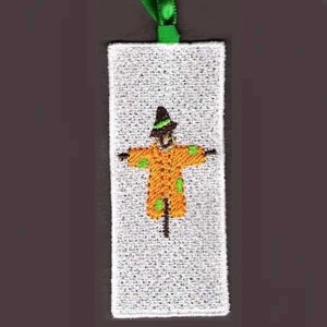 Scarecrow Bookmarker Embroidery Design