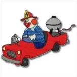Fire Engine Clown Small