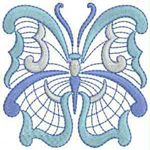 Jacobean Butterfly