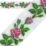 Continuous Rose Border