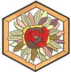 Art Nouveau Chrysanthemum