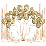 Art Nouveau Butterfly Floral