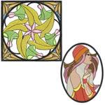 10 Set Art Nouveau