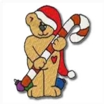 Candy Christmas Bear