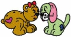 Belinda Bear and friend
