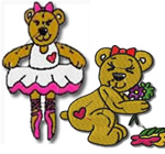 12 set Belinda Bear
