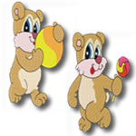Candy Bears Set of 20 designs