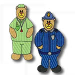 Career Bears Set of 14 designs