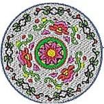 Chinese Plates Coaster