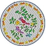 Chinese Plates with Birds
