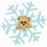 Teddy Snowflake