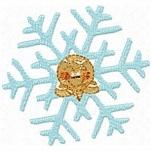 Animal Xmas Snowflakes