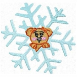 Cute Animal Snowflake