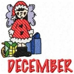 December Calendar Girl